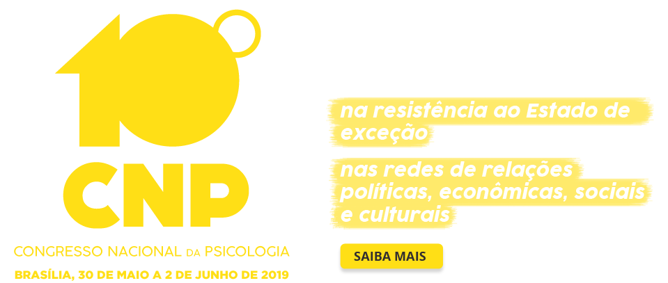 10 Congresso Nacional de Psicologia